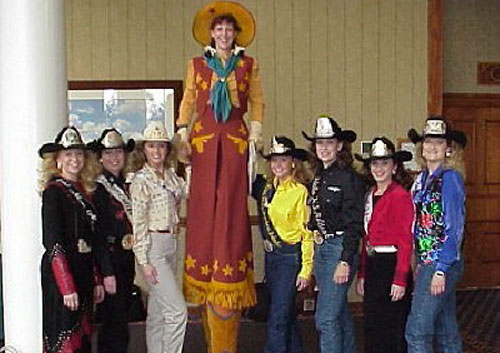 Karen Quest Cowgirl Tricks/Stilts